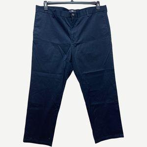 DOCKER'S Men's Straight Fit Navy Pant 42